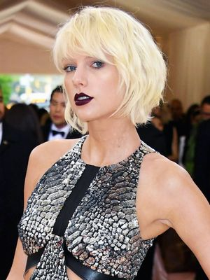 Taylor Swift Wore the Craziest Knee-High Shoes to the Met Gala