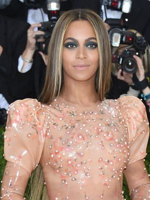 What Beyoncé Had to Say About Her Skintight Latex Met Gala Dress