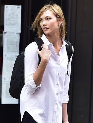 Karlie Kloss Made a Darth Vader Backpack Look Cool