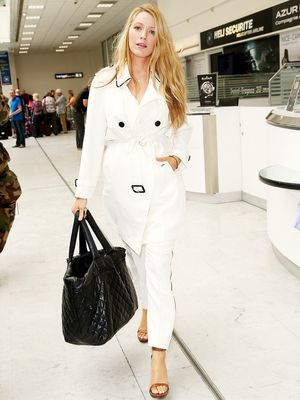 Blake Lively Wore the One Airport Staple Every Woman Needs