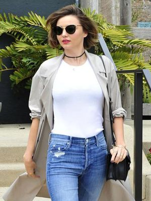 Miranda Kerr Wears the #1 Celebrity Uniform of 2016