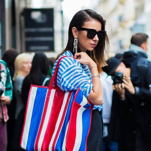 best designer bags 2016: Balenciaga Bazar shopper bag