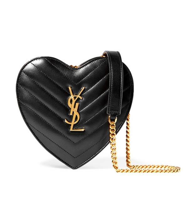 best designer bags 2016: Saint Laurent Love Clutch