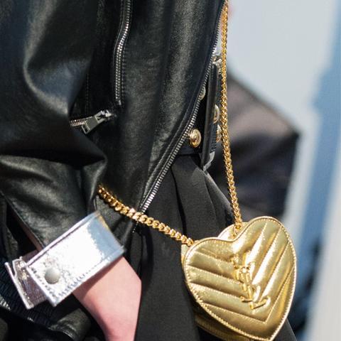 best designer bags 2016: Saint Laurent Love Shoulder Bag