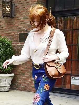 We Want to Wear Florence Welch's Patchwork Pants All Spring