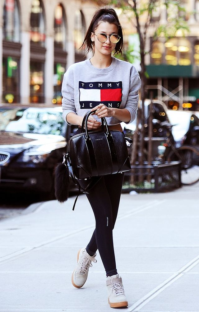 3 Easy Ways to Dress Up Leggings and Sneakers | WhoWhatWear