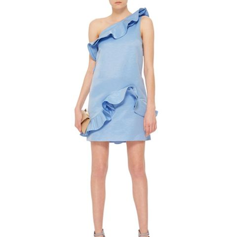 One Shouldered Mini Dress