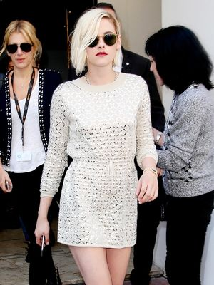 The $80 Sneakers Kristen Stewart Paired With a Fancy Dress at Cannes