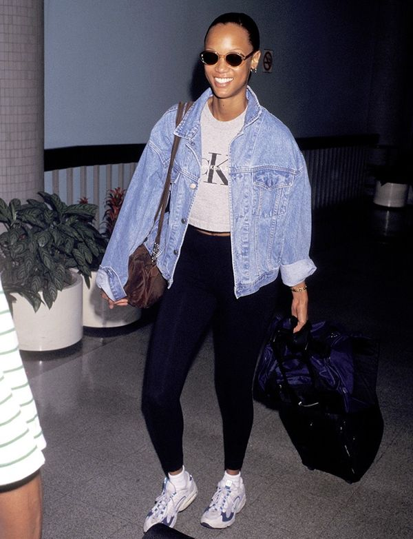 Why The 39 90s Were The Golden Age Of Airport Style Whowhatwear Uk