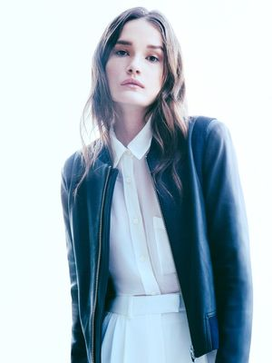 Meet the New Leather Jacket Fashion Girls Will Be Wearing