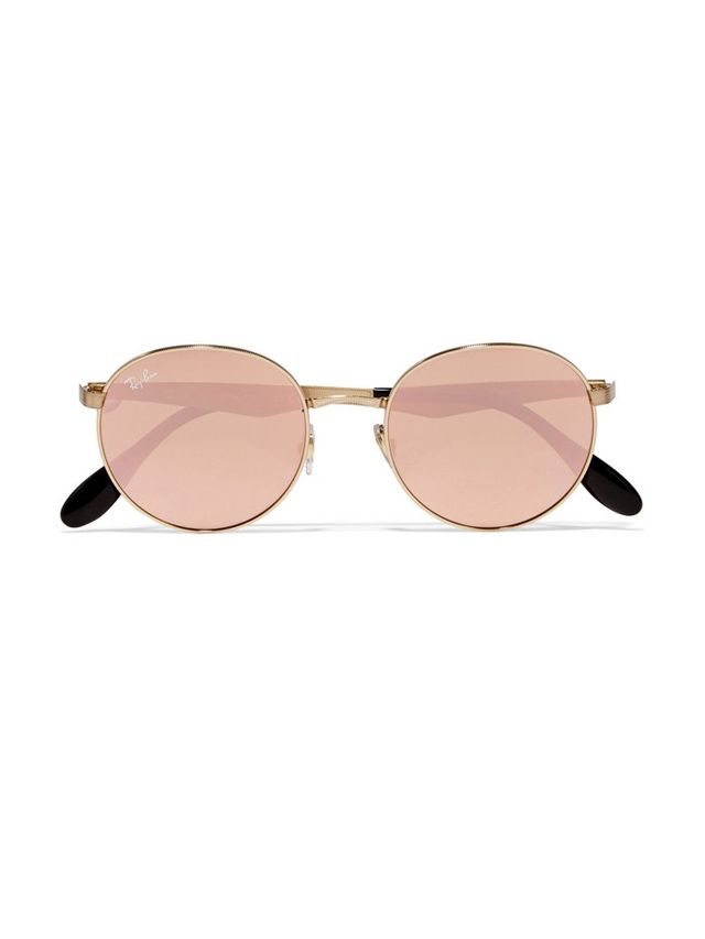 Must-Have: Ray-Bans Gold-Plated Round Frames WhoWhatWear
