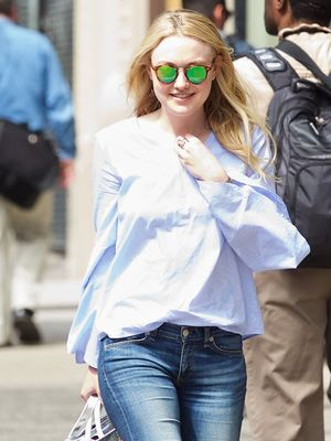 Dakota Fanning Just Wore the $50 Zara Top of Your Dreams