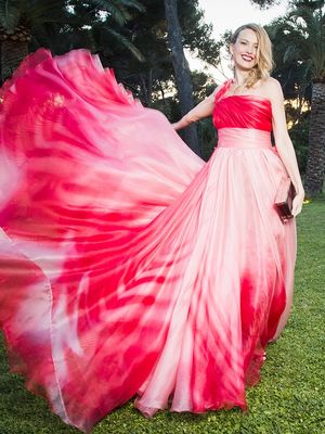 6 Stunning Dress Twirls Caught on Camera at the amfAR Gala
