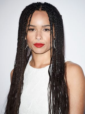 5 Beauty Lessons I Learned in 5 Minutes With Zoë Kravitz