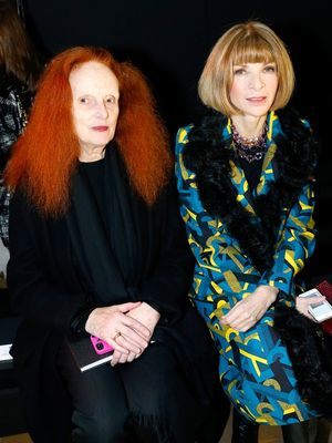 Grace Coddington Reveals Why She's Not Intimidated by Anna Wintour