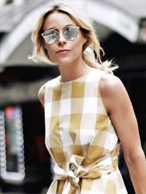 A Blogger-Approved Way to Give Gingham Some Edge