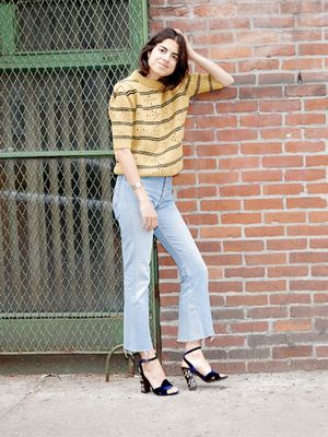 Leandra Medine Wants You to Wear These Jeans