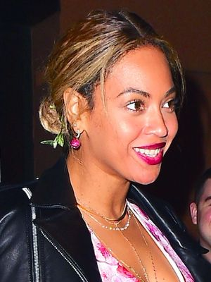 Beyoncé Wore the Most Romantic Dress for Date Night