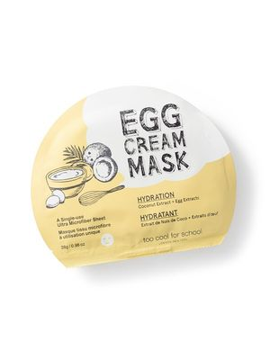 Egg Cream Is the Latest Korean Beauty Trend—so Try These $6 Masks