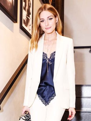 Olivia Palermo's Genius Trick for Making Business Wear Feel Feminine