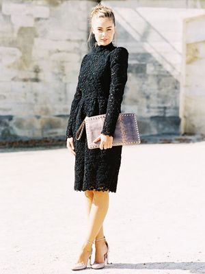 How to Pull Off Black at a Summer Wedding (Without Looking Boring)