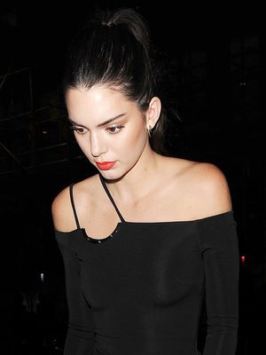 The Kendall Jenner Way to Style a Bodysuit for a Fancy Event