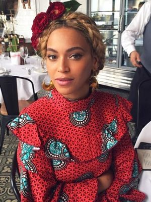 Beyoncé's Amazing Printed Dress Is Almost Sold Out