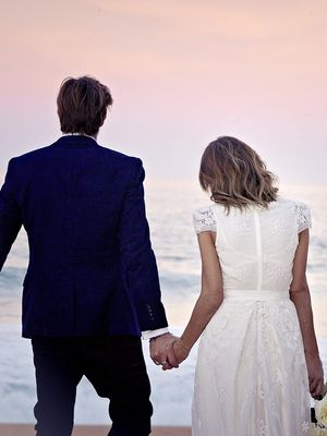 The Aisle: Inside This Creative Director's Seriously Cool Whale Beach Wedding