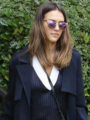 Jessica Alba Tried the Sneaker Trend That's Quietly Blowing Up