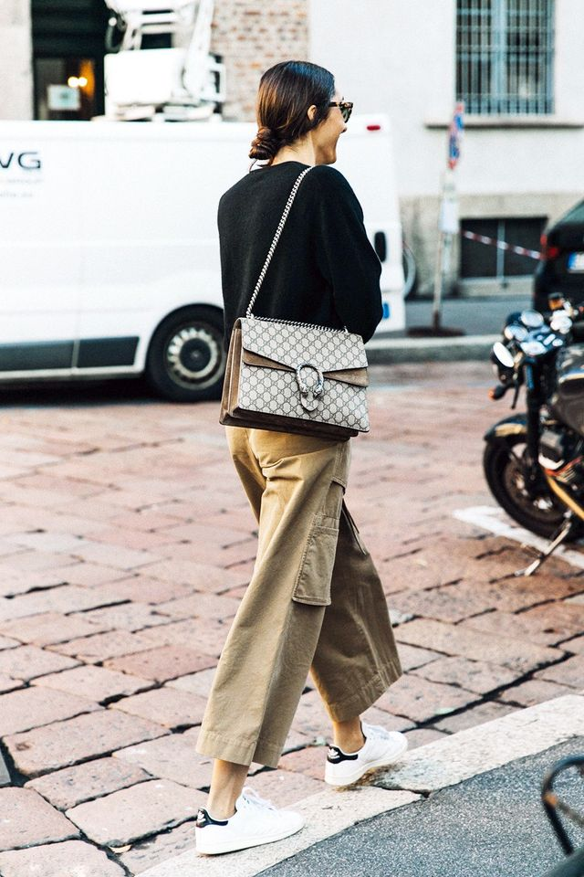 Here's How to Wear Those Cargo Pants Tucked Away in Your Closet