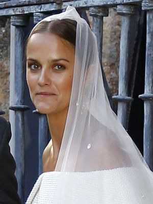 See the On-Trend Wedding Gown Worn by the Daughter of a Princess