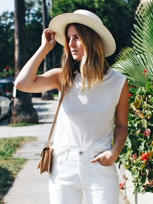 The Casual All-White Look You'll Want to Live In All Summer