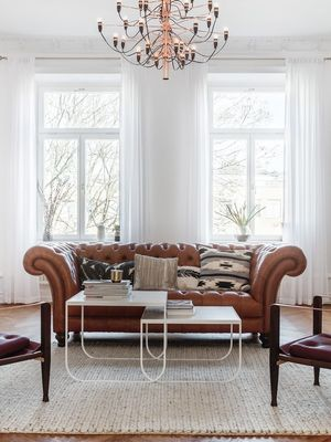 You'll Want to Paint Your Space White After Seeing This Elegant Home