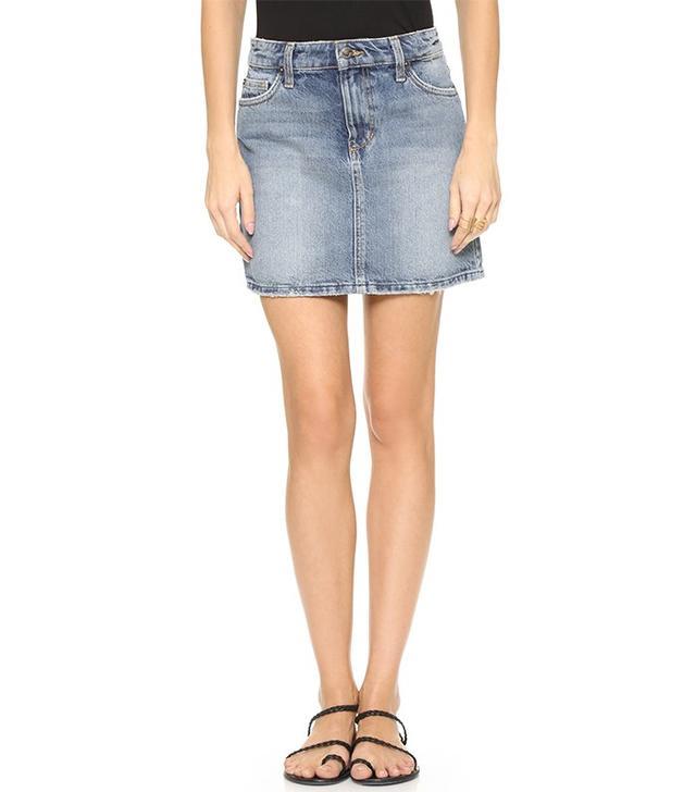 Mini Skirt Jean