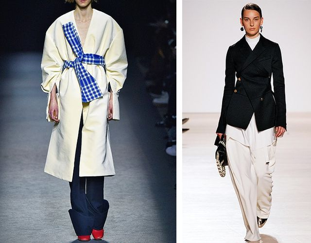 AW16 Fashion Trends on the catwalk at Jacquemus and Proenza Schouler