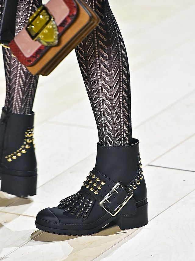 AW16 Fashion Trends on the catwalk at Burberry