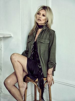 Kate Moss's New Collab Dropped Today—Here's What to Buy