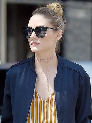 Olivia Palermo Just Perfectly Pulled Off a Very Unexpected Look