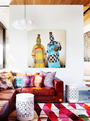 A Minimal Melbourne Home Gets a Playful Makeover