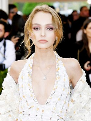 What Lily-Rose Depp Wears to Prom