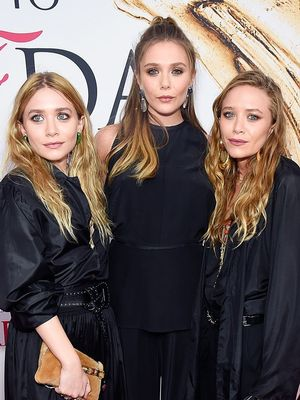 Mary-Kate, Ashley, and Elizabeth Olsen Are All Matching on the Red Carpet