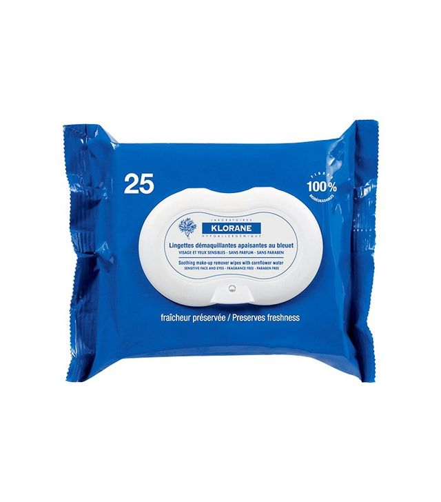 Best drugstore makeup: Klorane Make-Up Remover Biodegradable Wipes With Soothing Cornflower