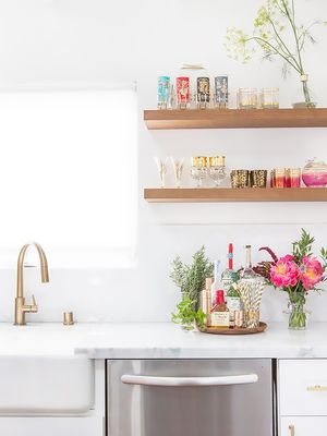 Tour a Wedding Blogger's Stunning Renovated Kitchen