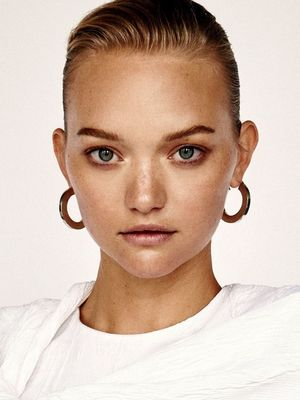 Gemma Ward's Latest Spread Has Us Seriously Coveting Hoop Earrings