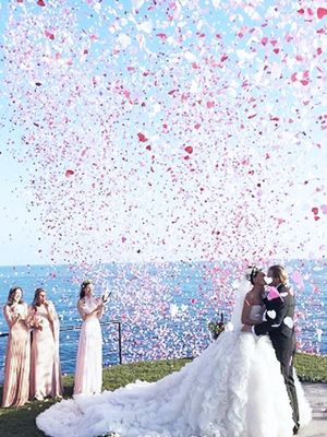 Is This the Most Extravagant Fashion Wedding There Ever Was?