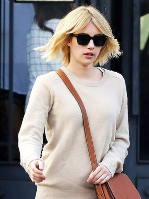 Emma Roberts Wore Skinny Jeans in the Freshest Way