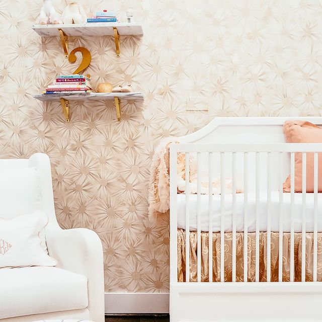 Inside an Insanely Glam Nursery Fit for a Queen