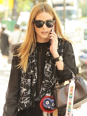 The Olivia Palermo Way to Style Leggings for Work