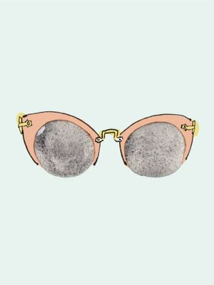 These Rose Quartz Lenses Are the Sunglasses of the Moment