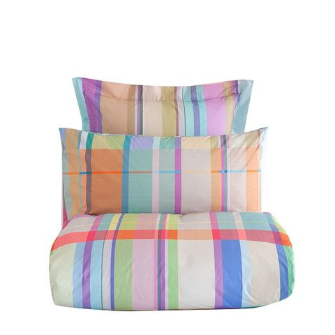 Multicolored Plaid Bedding